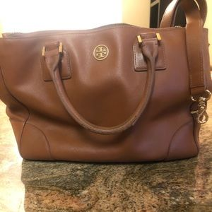Tan Tory Burch Purse